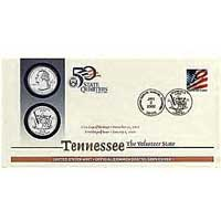 2002 - Tennessee First Day Coin Cover (Q25)