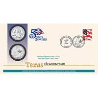 2004 - Texas First Day Coin Cover (Q37)