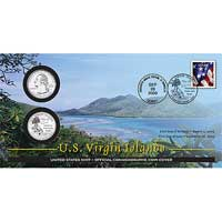2009 - U.S. Virgin Islands Official First Day Coin Cover (WB5)