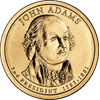 John Adams Presidential Dollar 2007
