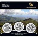 El Yunque National Forest - 3 Coin Set (Pureto Rico) 2012
